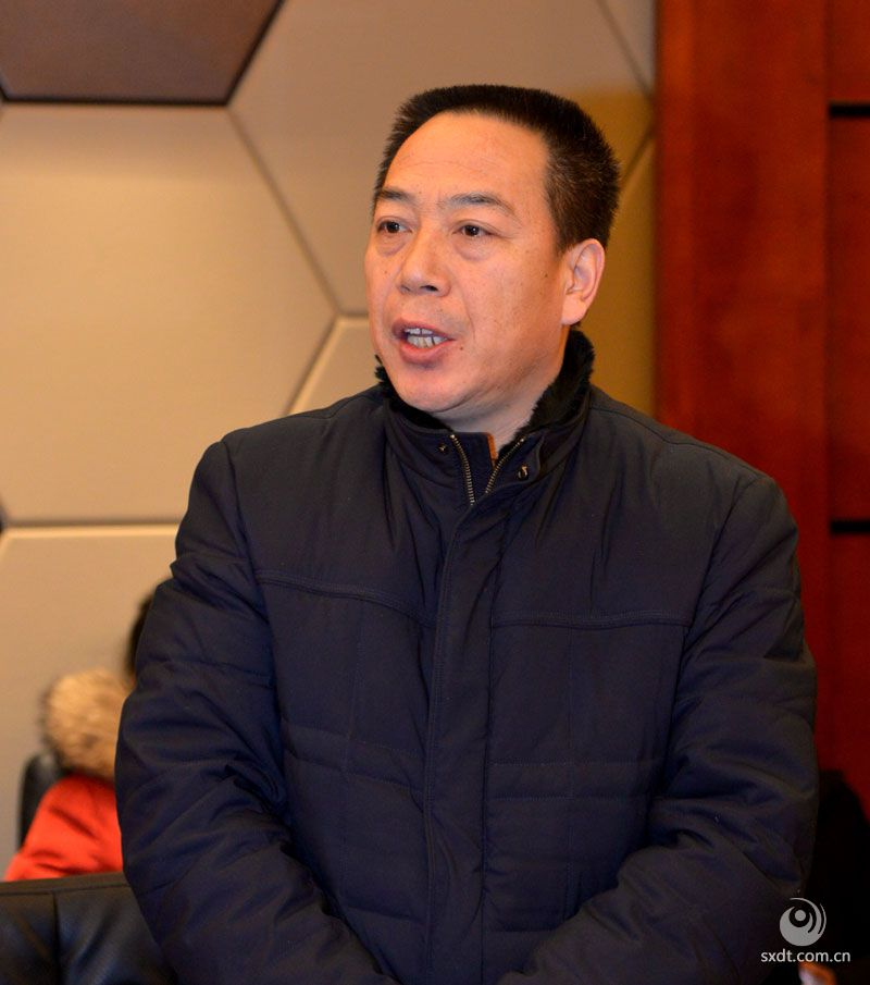 大同市民政局社会组织科副科长杨卫鸿出席会议并讲话