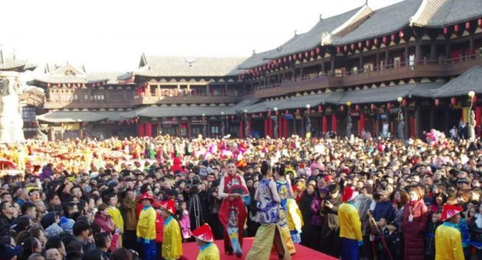 2018年古都灯会——春节文化庙会民俗文化展演安排