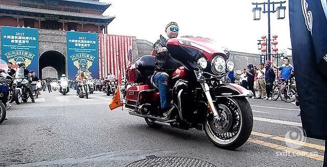 2017大同重机国际摩托车滚雷巡游节