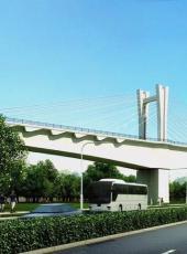 大张高铁智家堡特大桥跨御河西路桥梁即将合龙