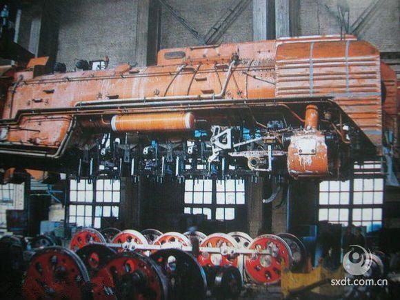 大同火车制造车间428工厂,以前很厉害的