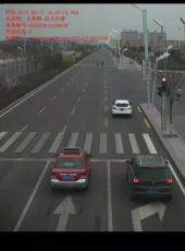 永固街、太和路由北向南方向的这个路口红灯禁止右转