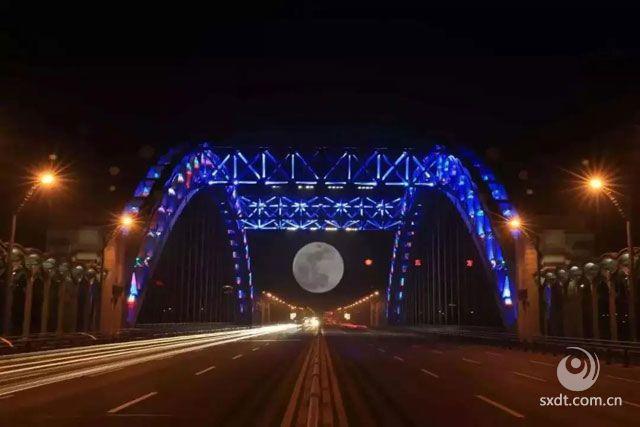 北都桥月景,每年都是最佳!