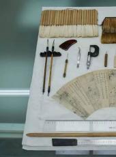 """文物的保护性修复——""""还原裱""""中的丝绫加固与复原技法"""
