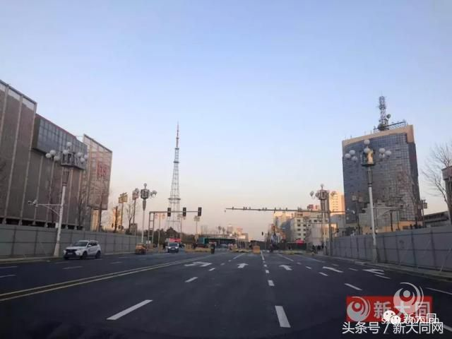 实拍迎宾街西段改造完成 本月底即将全线通车
