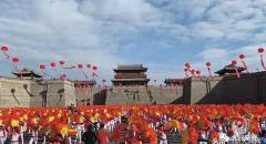 """中国·大同20125人排舞《舞动中国》创造""""世界最大规模排舞""""世界纪录"""