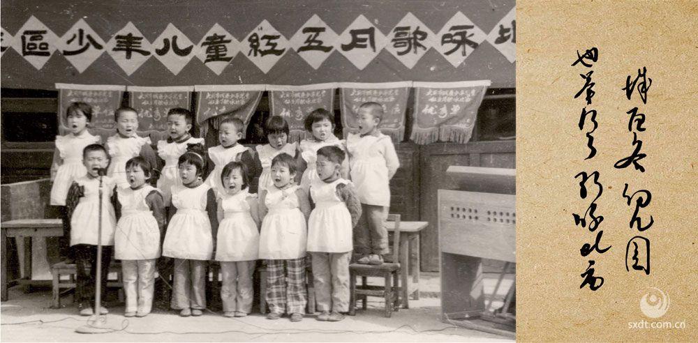 城区各幼儿园也举行了歌咏比赛-1