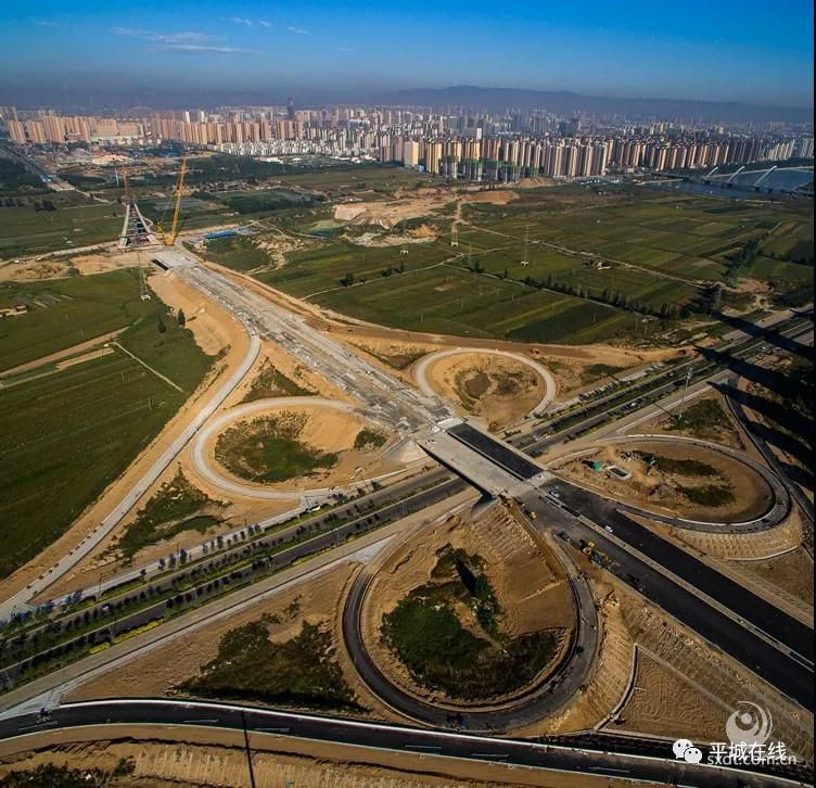 大同市开源桥施工现场 张丹丹