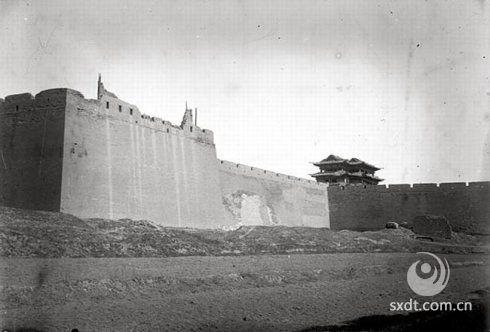 老照片:1907年,山西大同府