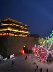 古都灯会撤展开始,3月20日大同城墙恢复向游客开放