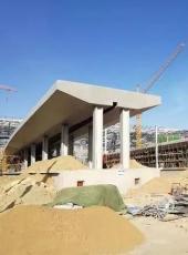 大同高铁南站、体育场...最新建设实拍照