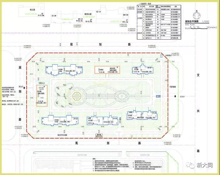 兴云街兴云首席住宅项目建设规划许可公示