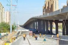总投资31亿!同煤快线高架桥主体结构即将全线贯通!