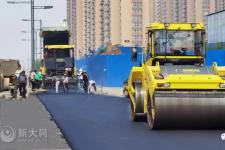 同煤快线大同南站-南环西路全面铺油 8月通车!