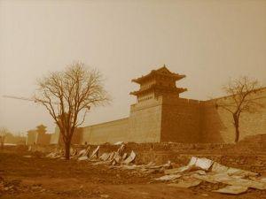 美丽的大同东城墙
