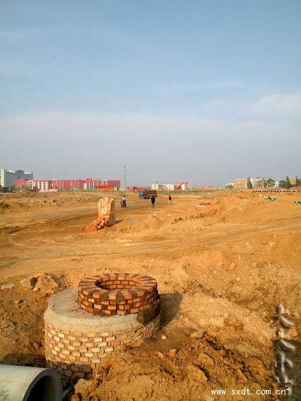 全景360°大同御东新区兴云大街建设进程